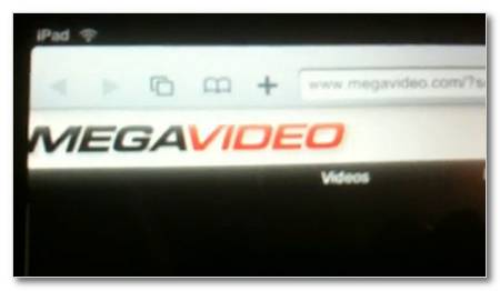 Ver Megavideo en el iPad