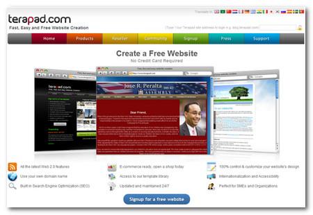 40 herramientas para crear sitios web online