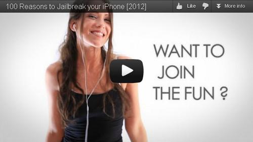 Jailbreak, 100 motivos para instalarlo