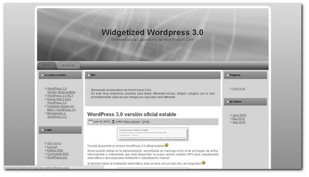 Plantillas WordPress 3 columnas