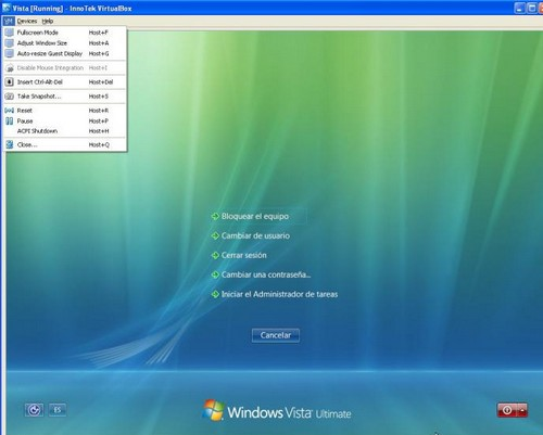 Virtualbox portable para windows 7