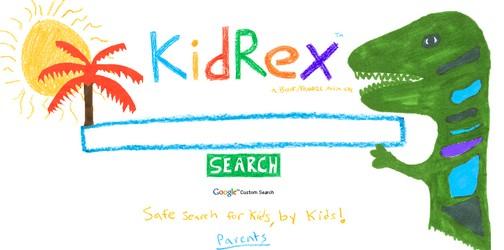 KidRex, un buscador web para niños
