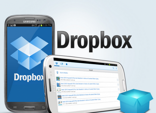 android dropbox